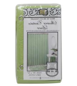 "100% Vinyl Shower Curtain Liner ""Mildew Resistant, Heavy Wei"