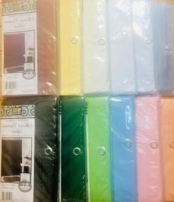 """100%Vinyl Deluxe Shower Curtain Liner """"Mildew Resistant, Rei"""