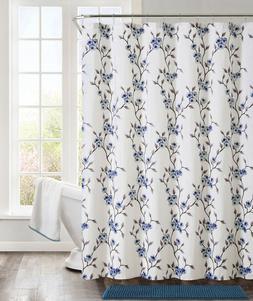 VCNY Home 14 Pc. Fabric Shower Curtain, Hooks & Bath Mat Set