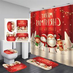 Xueqin 180x180cm Merry Christmas Print <font><b>Shower</b></