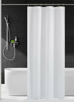 36 inch Stall Shower Curtain Fabric, Water Repellent, Washab