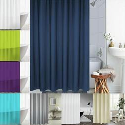"71"" Fabric Waterproof Bathroom Shower Curtain Liner Bathtub"