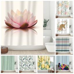 Sunlit Designer Fabric Shower Curtain Modern Classical Bathr