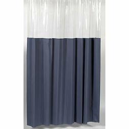 Carnation Home Fashions 72 by 72-Inch Vinyl Window Shower Cu