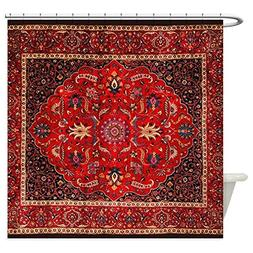 CafePress - Antique Persian Rug Shower Curtain - Decorative