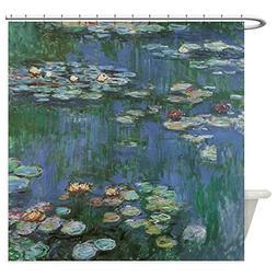 CafePress - Claude Monet Water Lilies Shower Curtain - Decor