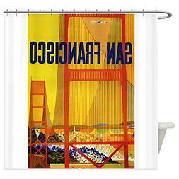 CafePress - Golden Gate, San Francisco, Vintage Poster Showe