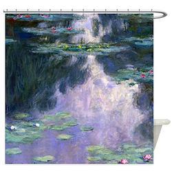 CafePress - Monet - Nympheas 1907 - Decorative Fabric Shower