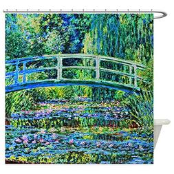 CafePress - Monet - Water Lily Pond - Decorative Fabric Show