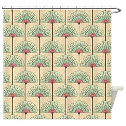 CafePress - Vintage Art Deco Abstract Shower Curtain - Decor