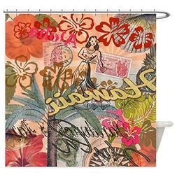CafePress Vintage Hawaii Travel Colorful Hawaiian Tropical S