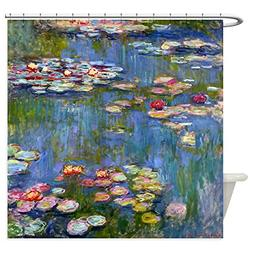 CafePress - Water Lilies By Claude Monet - Decorative Fabric