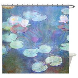 CafePress - Waterlilies by Monet Shower Curtain - Decorative