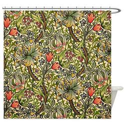 CafePress William Morris Golden Lily Decorative Fabric Showe