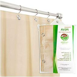 Clean Healthy Living Premium PEVA Shower Liner Curtain Odor