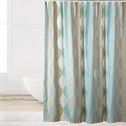 Eforcurtain Novelty Pattern Water Repellent Shower Curtain F