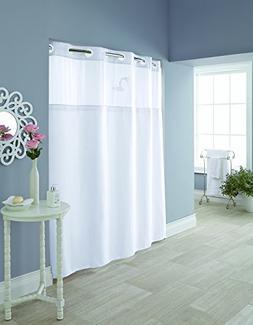 Hookless RBH95MY980 Hudson Herringbone Shower Curtain with S