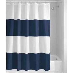 InterDesign Mildew-Free Water-Repellent Zeno Shower Curtain,