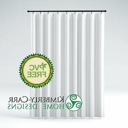 Kimberly-Carr Home Designs' THE SHOWER CURTAIN LINER PVC-Fre
