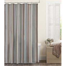 Maytex Jodie Fabric Shower Curtain