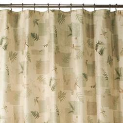 Maytex Julia Fabric Shower Curtain