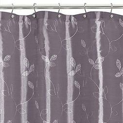 Maytex Laurel Fabric Shower Curtain