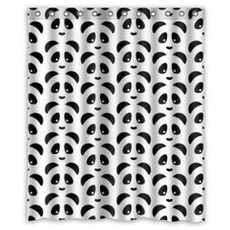 """New Choice - Simple Cute Pandas Shower Curtain 60""""x72"""" Inche"""