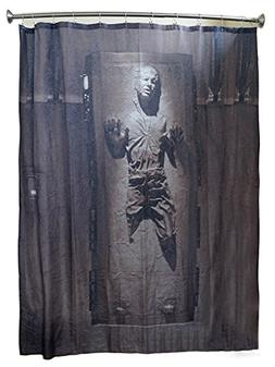 Robe Factory Star Wars Han Solo in Carbonite Shower Curtain