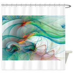 CafePress Abstract 1044 Decorative Fabric Shower Curtain