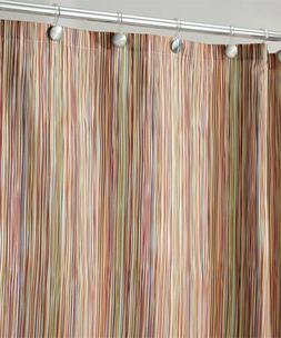 mDesign Abstract Multi-Colored Striped Polyester Spa Shower