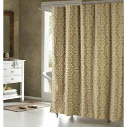 Creative Home Ideas Addisson Printed Fabric Shower Curtain