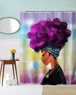 African Women Shower Curtain Decor by Mugod,African Culture