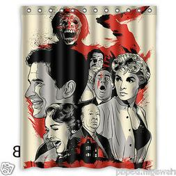Alfred Hitchcock Custom Fabric Shower Curtain 60x72 Inch