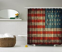 American USA Flag Decor by Ambesonne, USA Flag Patriotism Pa