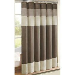 Madison Park Amherst 72-Inch x 72-Inch Shower Curtain in Nat