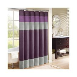 Madison Park Amherst Shower Curtain, Purple, 72 x 72 by Madi