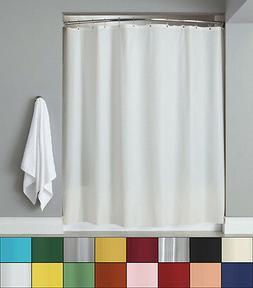 Anti-Mildew 72 x 72 Vinyl Shower Curtain Liner w/ Metal Grom