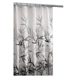 "InterDesign 36524 Anzu Fabric Shower Curtain Green 72/"" x 72/"" Standard"