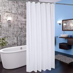 Fabric Shower Curtain 36 x 72 tall Size Bathroom Curtain for