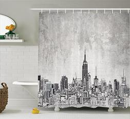 Ambesonne Apartment Decor Collection, Cosmopolitan New York