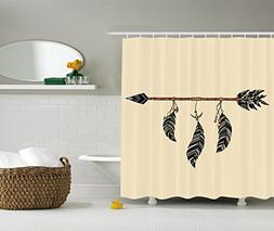 Ambesonne Arrow Decor Collection, Arrow in Ethnical Pattern