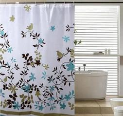Art Shower Curtain Flower Pattern Bath Shower Curtains Bathr
