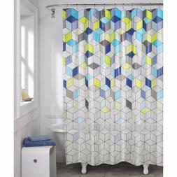 Maytex Aspect Geo Lenticular PEVA Shower Curtain