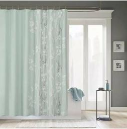 Madison Park™ Athena Seafoam Microfiber Shower Curtain