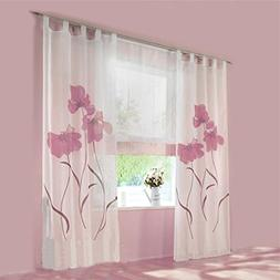 86 York Balcony Shades Sheer Window Valance 1 Panel