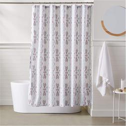 Basics Geometric Boho Shower Curtain - 72 Inch