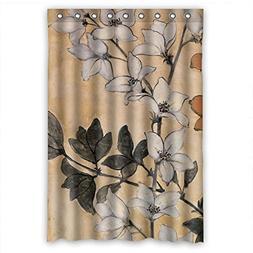TonyLegner Bath Curtains Width X Height / 48 X 72 Inches / W
