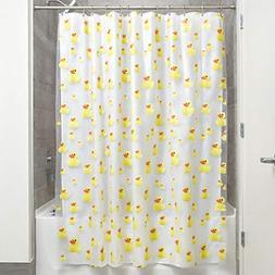 Bath Ducks Vinyl Shower Curtain Rubber Ducky Waterproof FAST