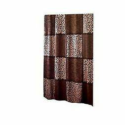 Fashion Bathroom Novelty ANIMAL PRINT Fabric Shower Curtain