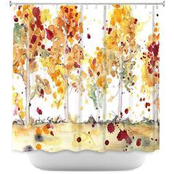 DiaNoche Designs Bathroom Shower Curtains by Dawn Derman - Y